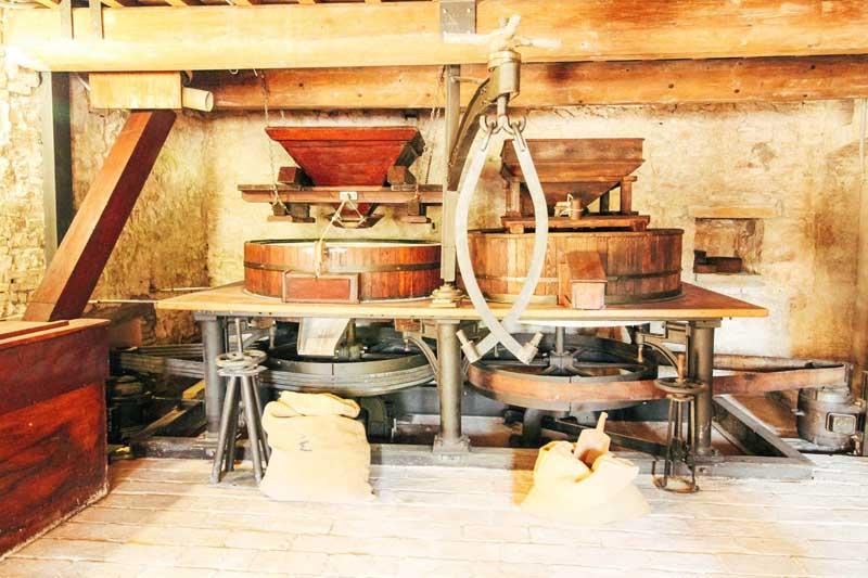 macchine antico mulino