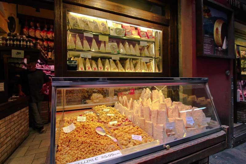 botteghe parmigiano via delle pescherie vecchie bologna