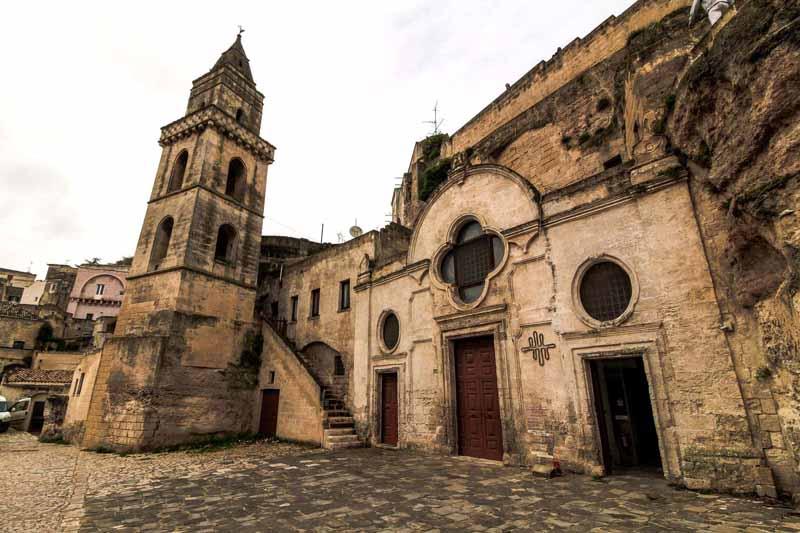 chiesa rupestre sn pietro in barisano matera