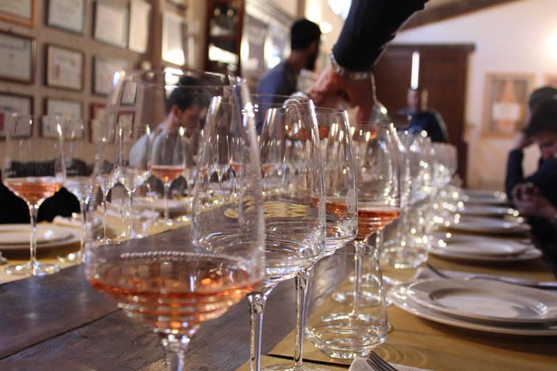wine tasting colline del prosecco