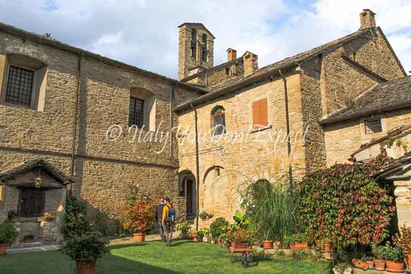 giardino abbazia san benedetto in alpe