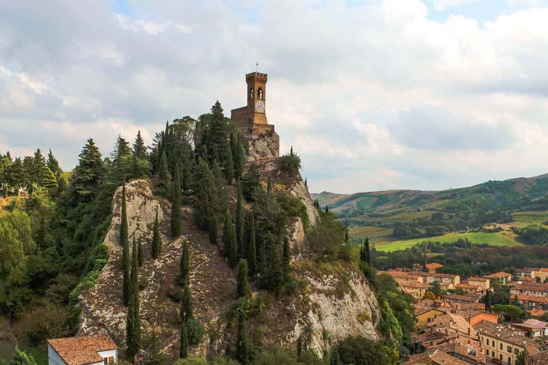 torre dell orologio dalla rocca brisighella