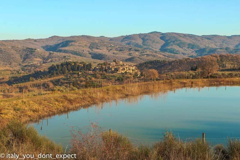 lago di san cresci slow road