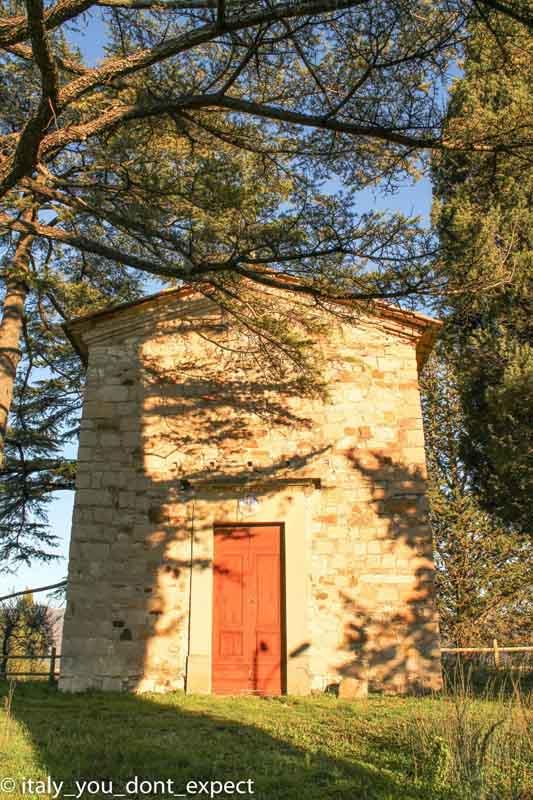 cappella di zano itinerario slow road