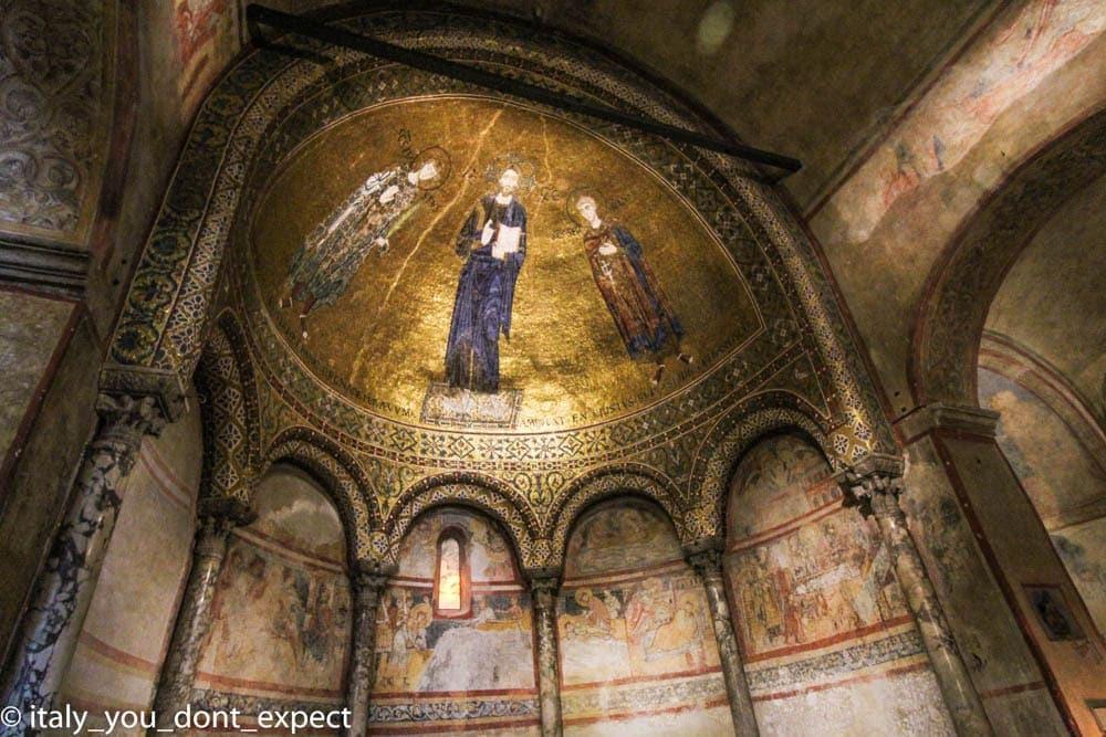 Abside interna cattedrale di san giusto