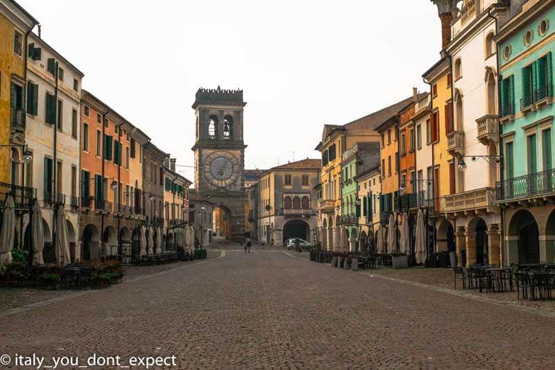 piazza maggiore este