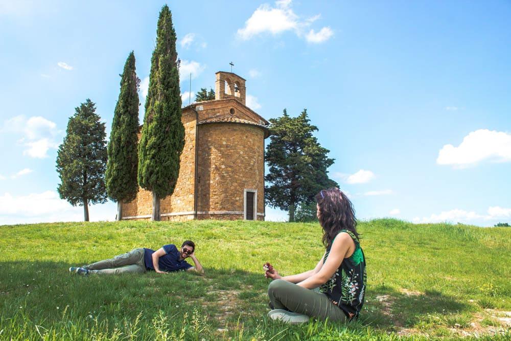mete insolite Itali Cappella Madonna Vitaleta