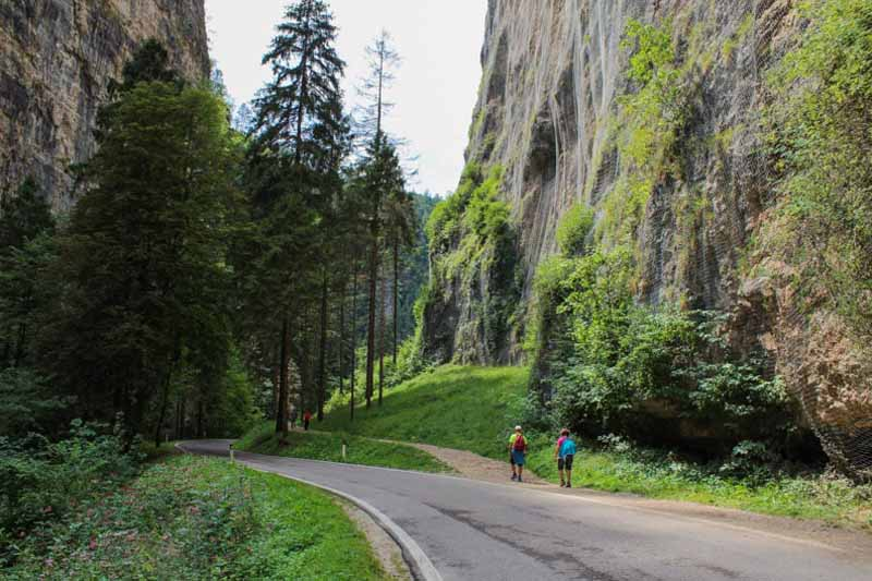 sentiero canyon val di non
