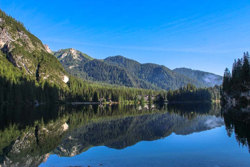 distanza san candido lago di braies