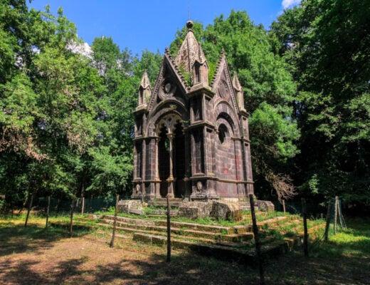bosco del sasseto e torre alfina