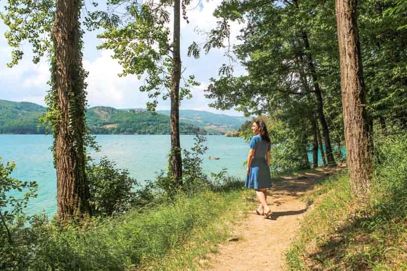 borghi vicino bologna lago di suviana