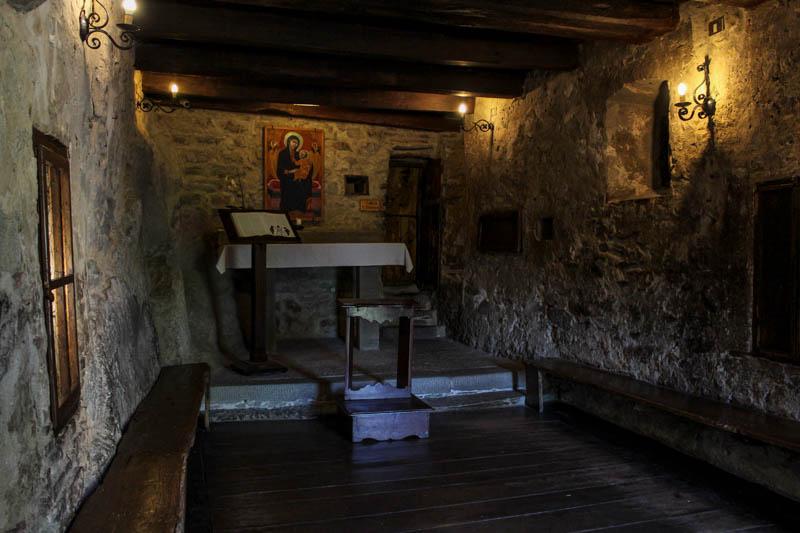 cella di san francesco eremo le celle