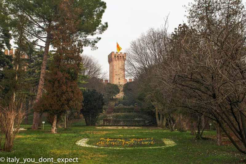 parco castello carrarese este