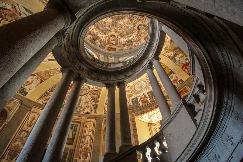 scala regia villa farnese