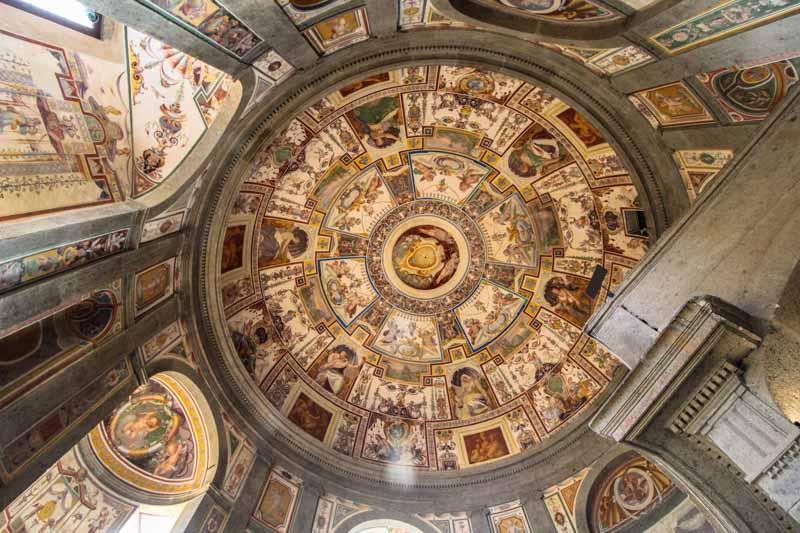 palazzo farnese cupola scala regia