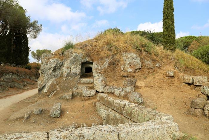necropoli etrusca di Cerveteri