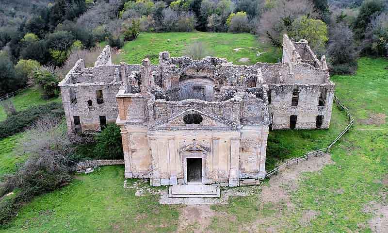 luoghi misteriosi lazio vicino roma antica monterano