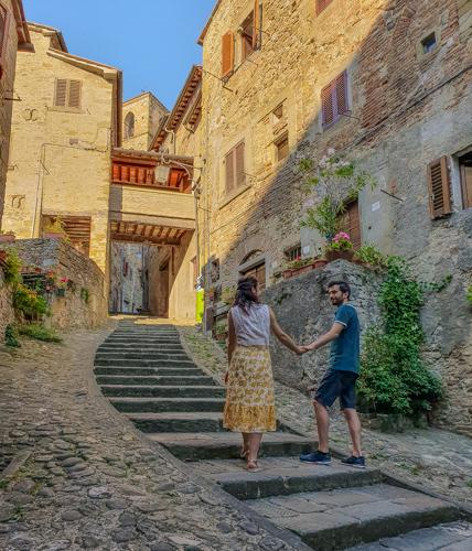 Anghiari borgo toscano in Valtiberina