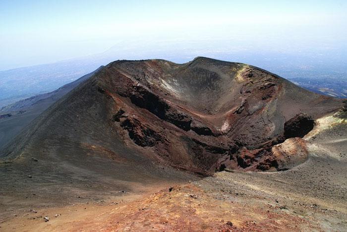 Monte Etna Sicilia vista dall alto