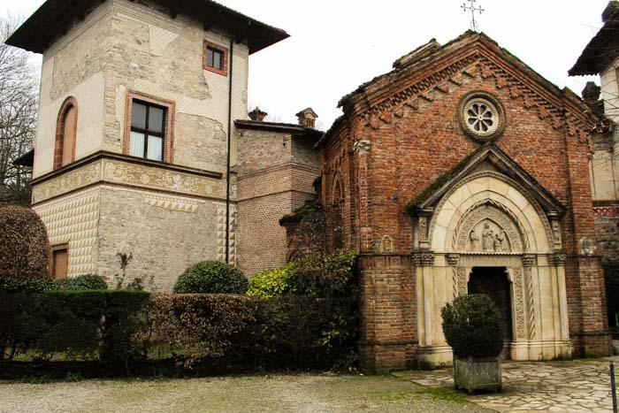 Chiesetta gotica di Sant'Anna Grazzano Visconti