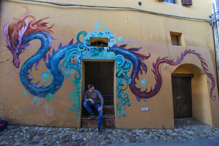 murales a Dozza