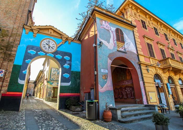 ingresso borgo di Dozza
