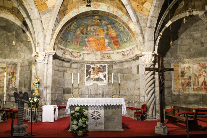 interno della chiesa di san flaviano