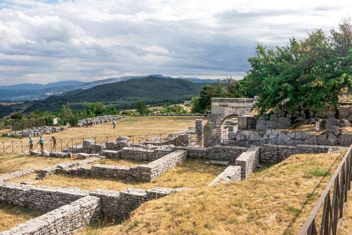 area archeologica Bovianum Vetus