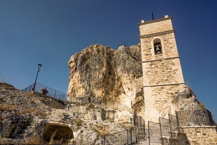 chiesa rupestre di Sant'Antonio Abate a pietracupa