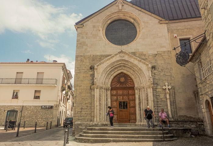 chiesa di sant'emidio agnone