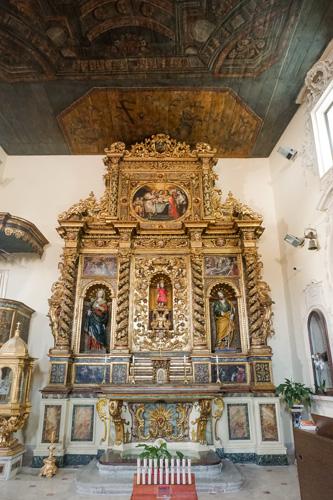 la Chiesa di Sant'Emidio ad agnone