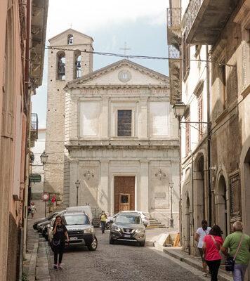 chiesa di agnone in molise