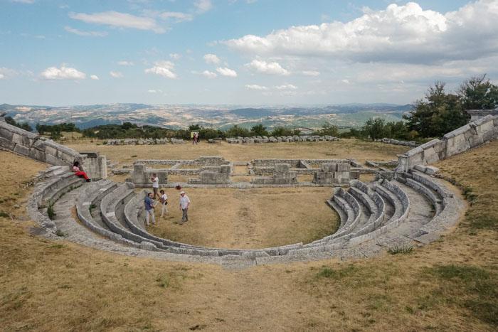 Santuario di epoca sannitica di Pietrabbondante