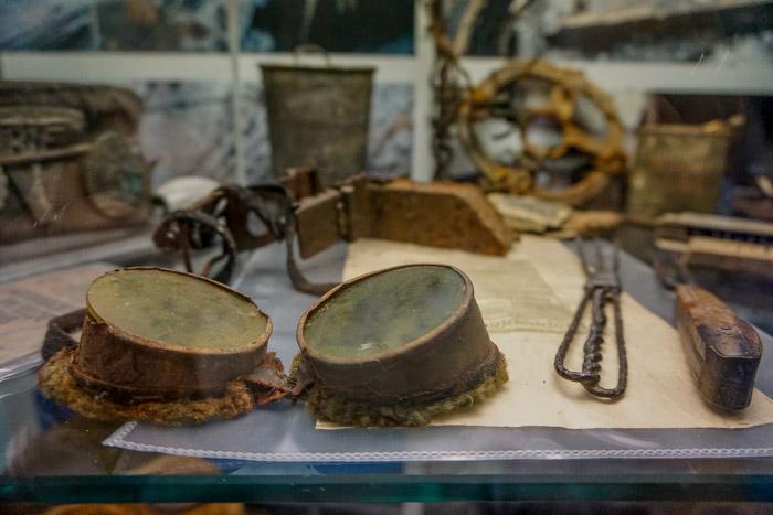 Reperti custoditi al Museo Mostra Permanente della Grande Guerra