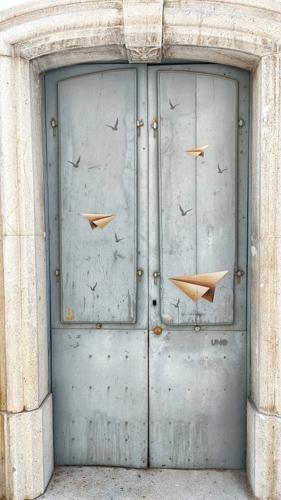 porta colorata a civitacampomarano