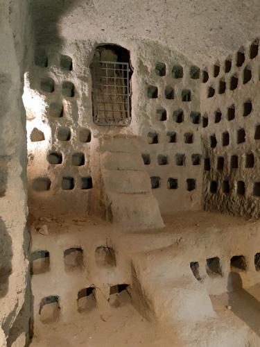 le grotte dei colombari a orvieto sotterranea