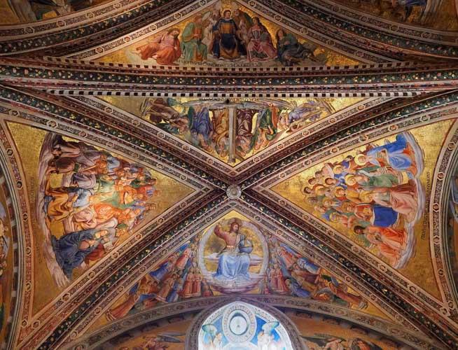 interni cappella di san brizio orvieto